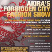 Akira Presents FORBIDDEN CITY FASHION SHOW