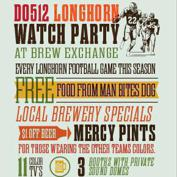  Do512 &amp; Brew Exchange Longhorn Football Watch Party: UT v Iowa State
