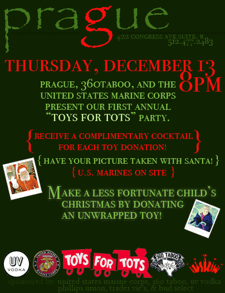 TOYS FOR TOTS party @ PRAGUE