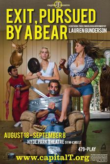 Exit, Pursued by a Bear - a southern-fried, gut-busting new comedy by Lauren Gunderson