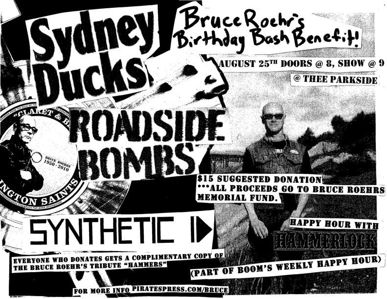 Roadside Bombs, Sydney Ducks, Synthetic Id