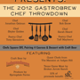 The 2012 Gastrobrew Chef Throwdown