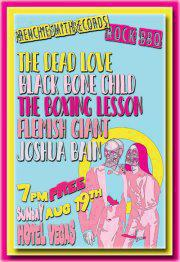  Wooooooooo! with Black Bone Child, The Boxing Lesson, The Dead Love, Flemish Giant and Joshua Bain!