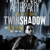 Twin Shadow Afterparty