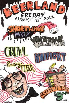 Shortwave Party, Knifight, Unknown Relatives, Easy Tiger
