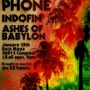 Tin Can Phone w/Indofin & Ashes of Babylon (INsite Night)