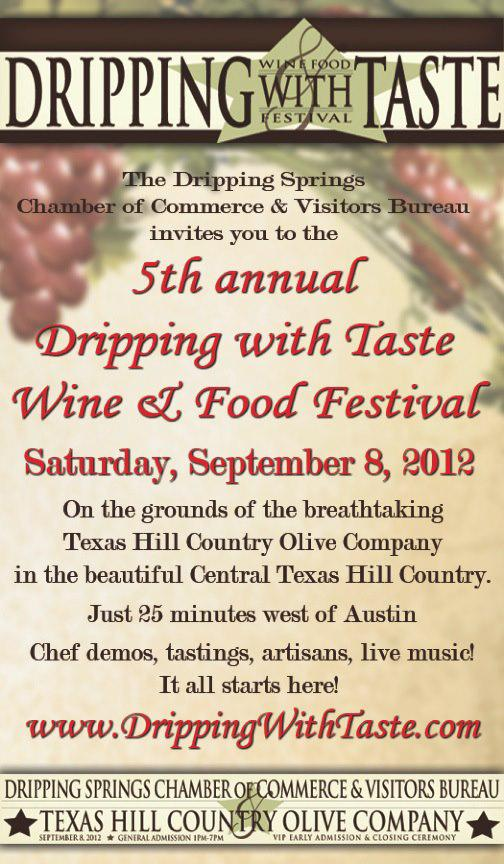 5th Annual Dripping with Taste Wine & Food Festival