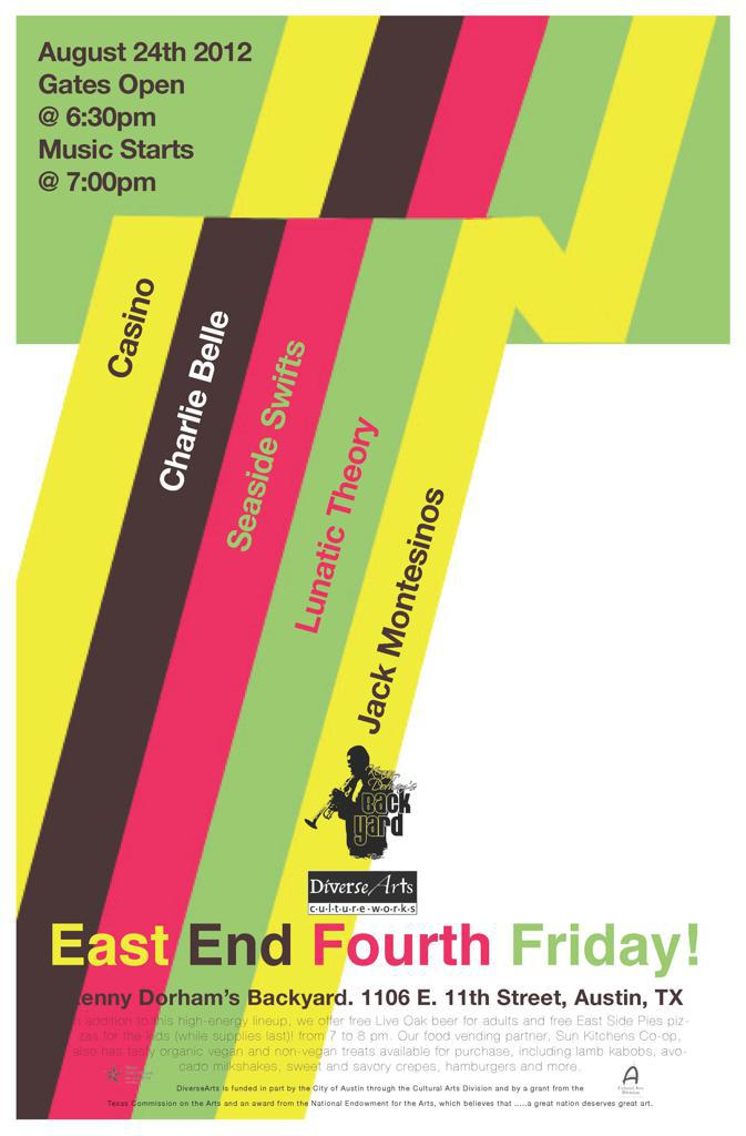 East End 4th Friday! All-Teen Band Back to School Music Festiva