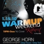 Warmup Weekend w/ George Horn