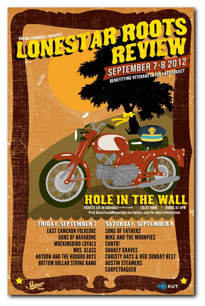 The Lonestar Roots Review with Sons of Fathers, East Cameron Folkcore & more!
