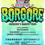 NightCulture/Disco Donnie Presents:  BORGORE'S Bakery Tour
