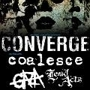 No Control Radio Presents: CONVERGE with Coalesce, Gaza, Lewd Acts, Black Breath