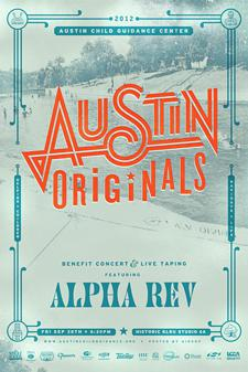 Austin Originals Benefit Concert and Live Taping Featuring Alpha Rev