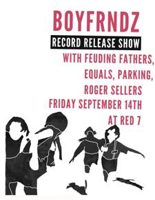BOYFRNDZ TOUR KICK OFF/ ALBUM RELEASE PARTY