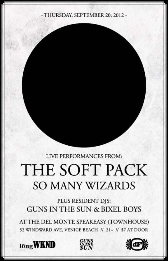 LNGWKND featuring The Soft Pack, So Many Wizards, and DJs Guns In The Sun and Bixel Boys