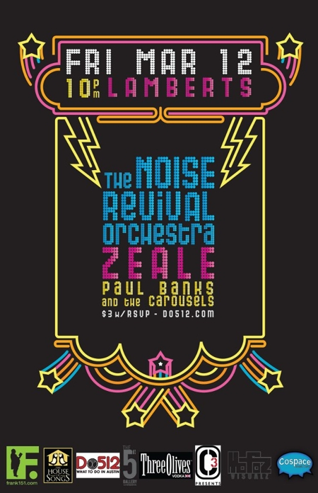 The Noise Revival Orchestra and Zeale (RSVP Now Closed)