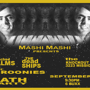 MASHI MASHI PRESENTS: Bleached Palms/The Broonies/The Dead Ships/Bath Party