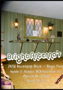 Bright Antenna's SXSW Basement Blast &amp; Bingo Party (RSVP Required)