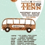 The Hotel Cafe and Ten Out of Tenn Party presented by Front Gate Tickets and Sustainable Waves