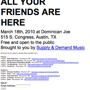 Supply and Demand Records Day Party (FREE, no RSVP)