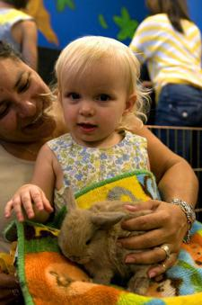 Thursday Morning Petting Zoo Playgroups Indoors at Book People!