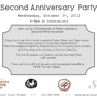 2nd Anniversary Party for Schatzelein & Pate Letelier!