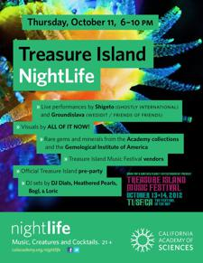 Treasure Island Nightlife with Shigeto, Groundislava & DJ Dials