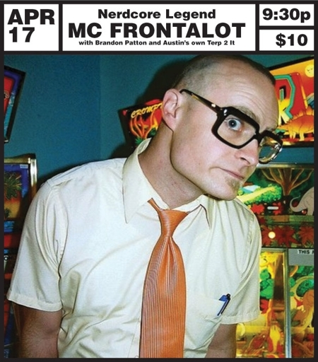 MC Frontalot w/ Brandon Patton & Terp 2 It