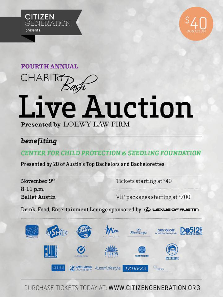4th Annual CharityBash Live Auction
