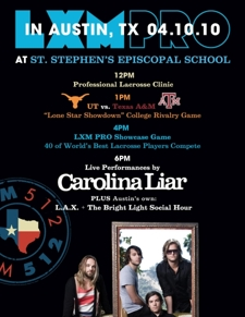 LXM Pro Lacrosse and Live Music Tour (feat. LAX, Bright Light Social Hour, Carolina Liar)
