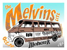 MELVINS LITE (51 Shows in 51 Days Tour) + Tweak Bird