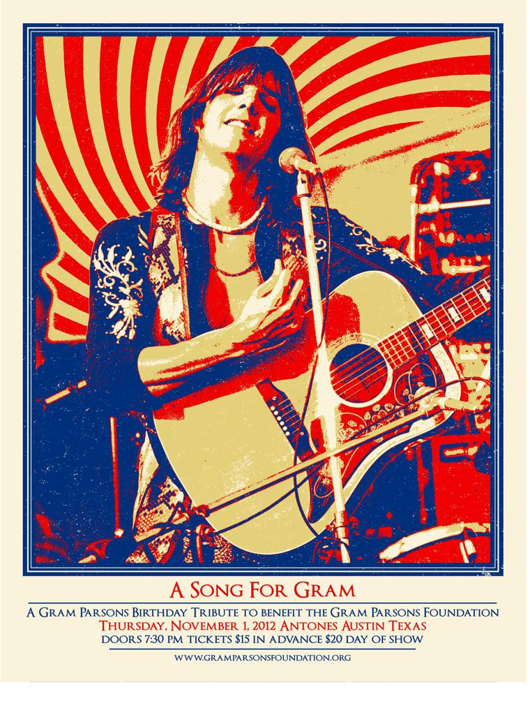A Song For Gram: The Gram Parsons Birthday Tribute