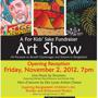 For Kids' Sake Fundraising Art Show