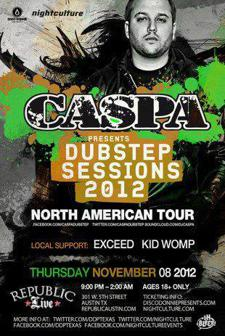 CASPA Presents Dubstep Sessions 2012