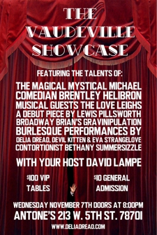 The Vaudeville Burlesque Showcase