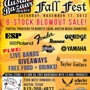 Austin Bazaar Fall Fest - FREE Live Music + Free Food & Beer + Musical Instruments 4 Sale
