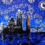 "Painting With a Twist - ""Austin Starry Night"""