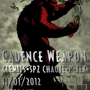 FFF Nites: Cadence Weapon + Clemits + Spz Chaote + P-Tek