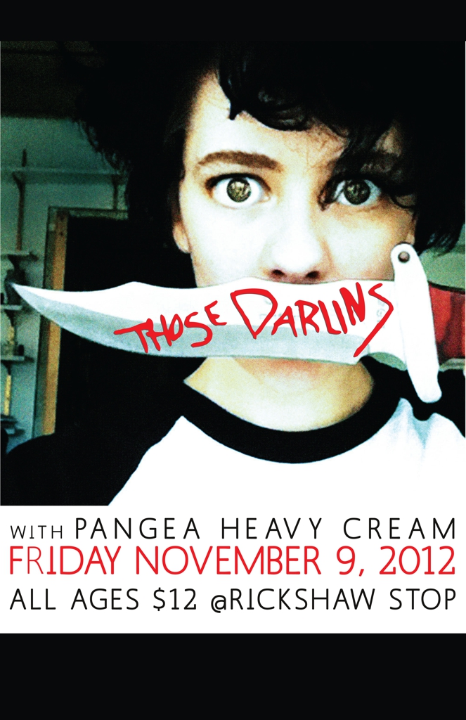 THOSE DARLINS, Pangea, Heavy Cream