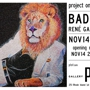 Project One Gallery Presents BADASS  :  solo exhibition by René Garcia, Jr.