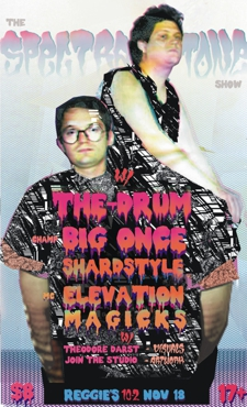 THE SPECTRATONE SHOW #3 w/ THE-DRUM, DJ Big Once, Shardstyle, Magicks, &amp; eLevation, presented by Join The Studio