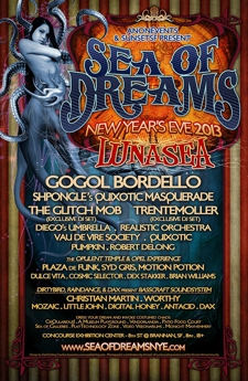 Sea of Dreams NYE 2013: LunaSea
