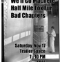  We'll Go Machete, HMFF, Bad Chapters