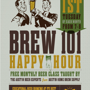  Brew 101 Happy Hour