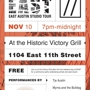 East Austin Studio Tour Victory Lap Event