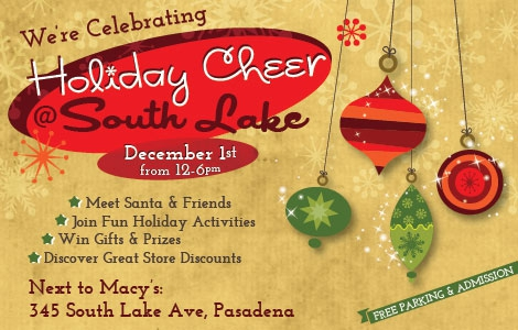 South Lake Avenue's Holiday Celebration