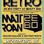 Champagne Retro - An 80's Party