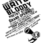  Write Bloody Store Opening Party