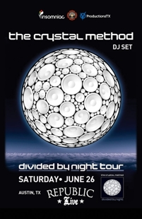 THE CRYSTAL METHOD w/ DJ Jason Jenkins & DJ Shwann
