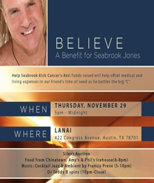 Believe: A Benefit for Seabrook Jones